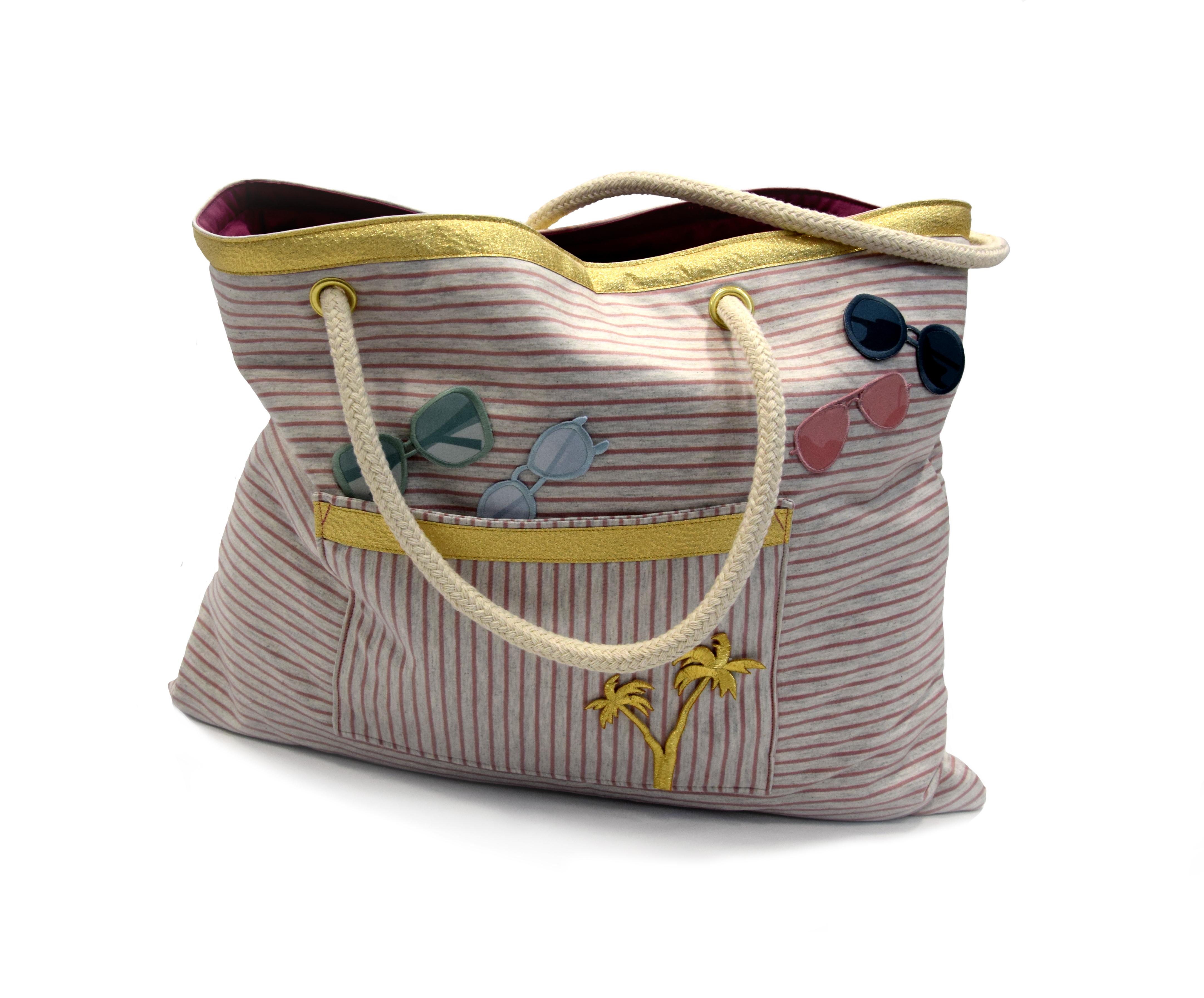 Tutorial für eine Strandtasche