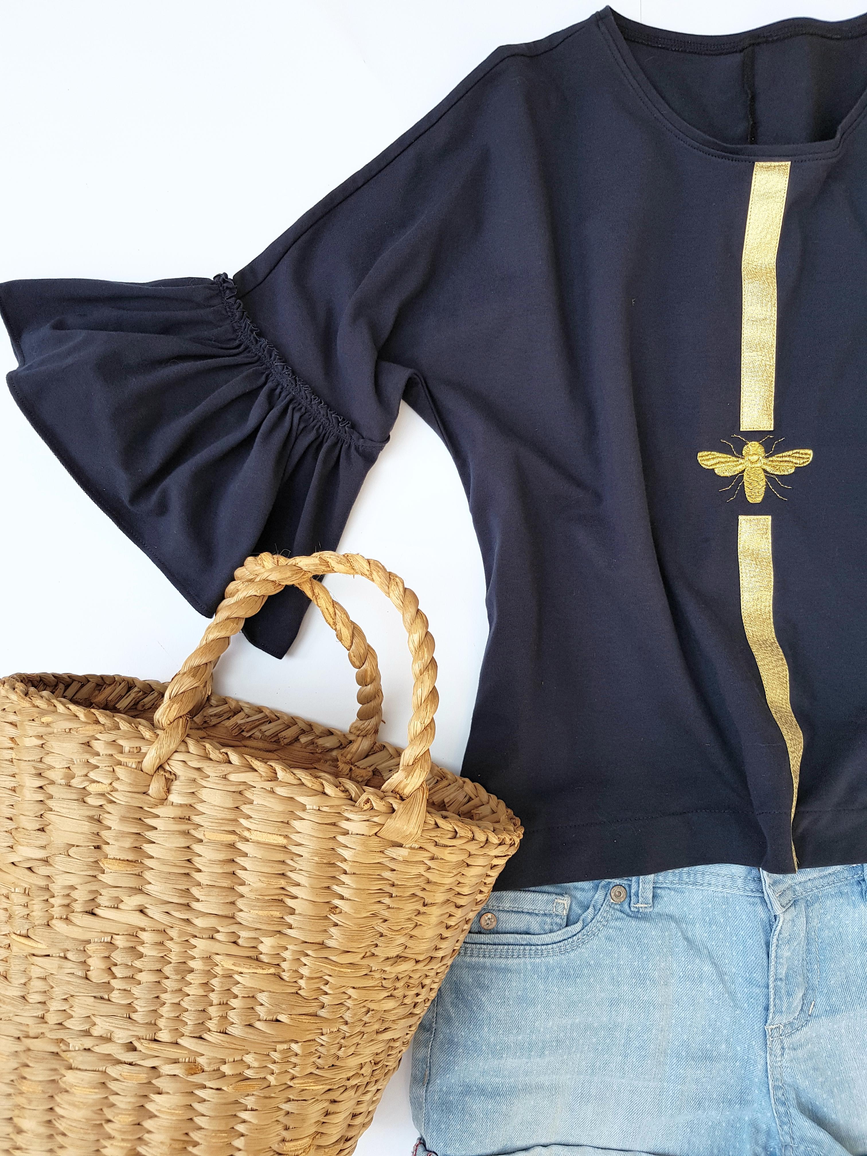 Kimono Shirt nähen