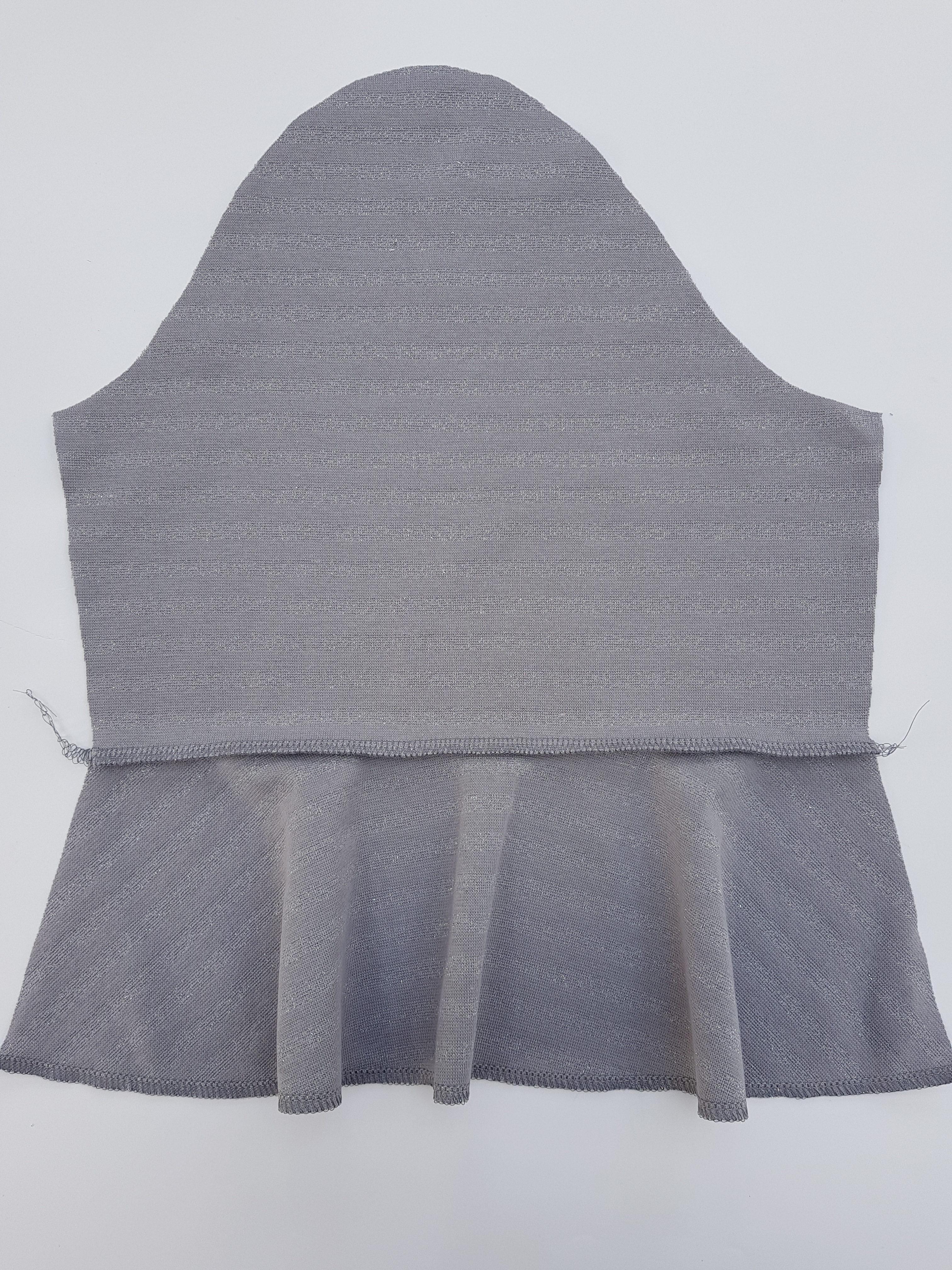 Shirt Volants Schnittmuster