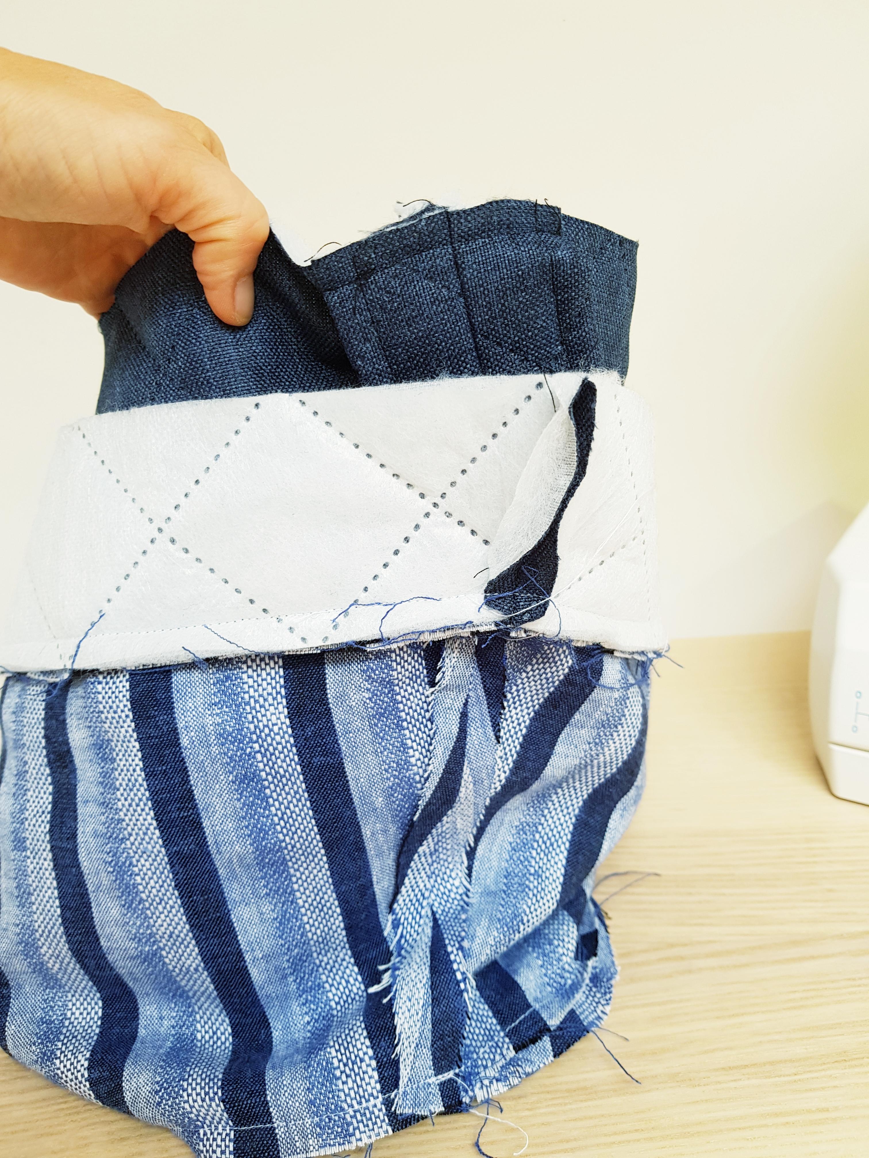 Tasche Korb Schnittmuster