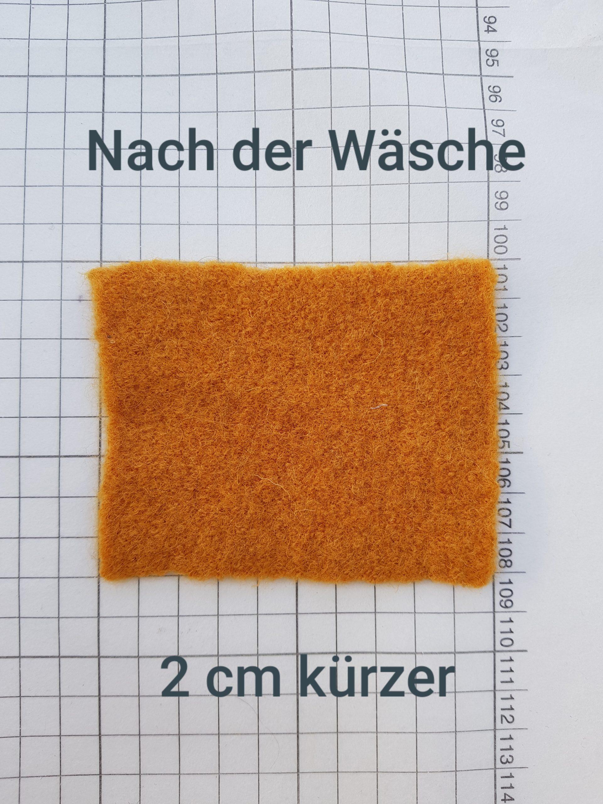 Wollstoff in der Waschmaschine waschen