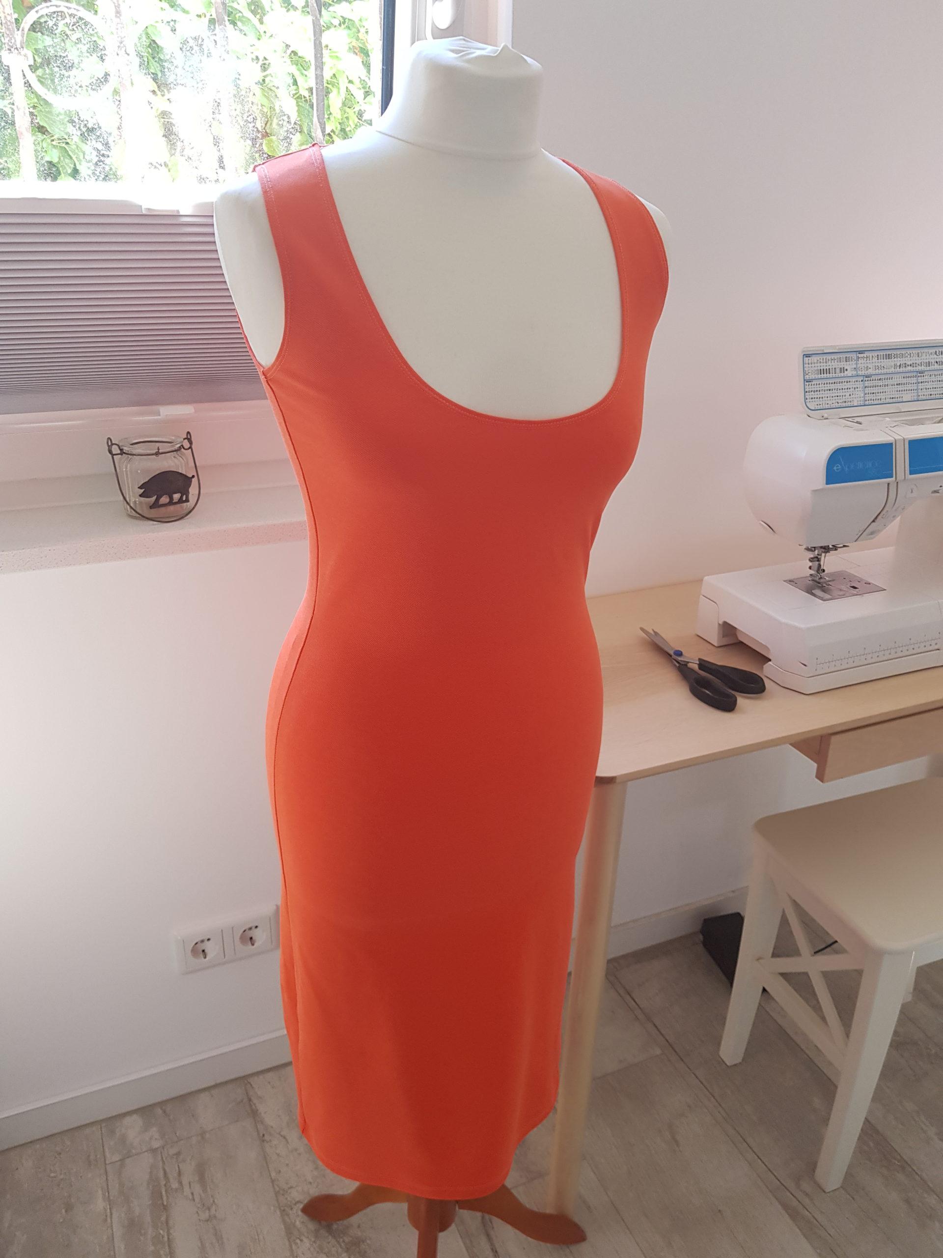 Jersey Kleid nähen